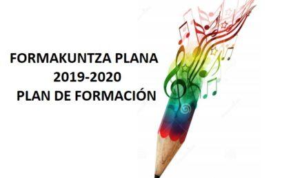 PLAN DE FORMACIÓN 2019-2020