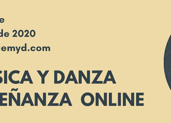 MÚSICA Y DANZA ENSEÑANZA ON-LINE