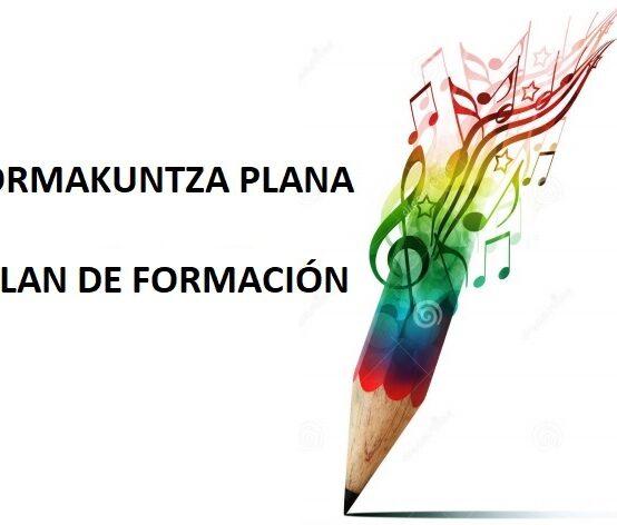 PLAN DE FORMACIÓN 2021-2022